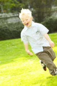 kid outdoors
