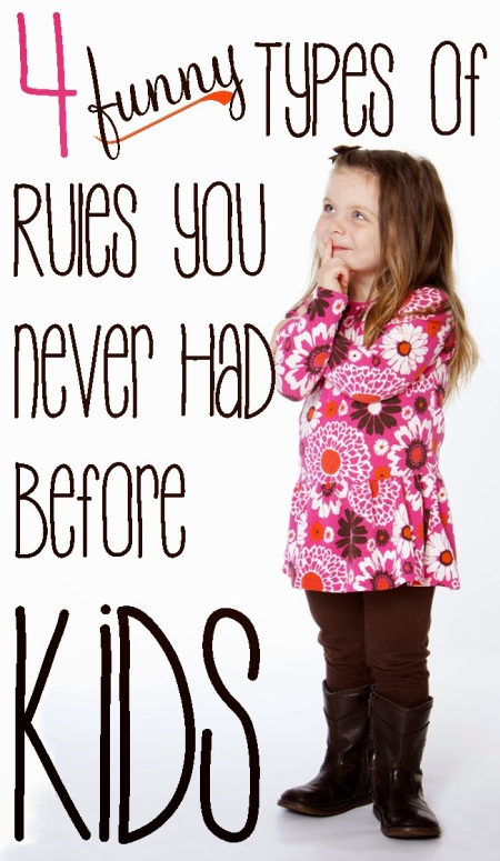 kids rules funny